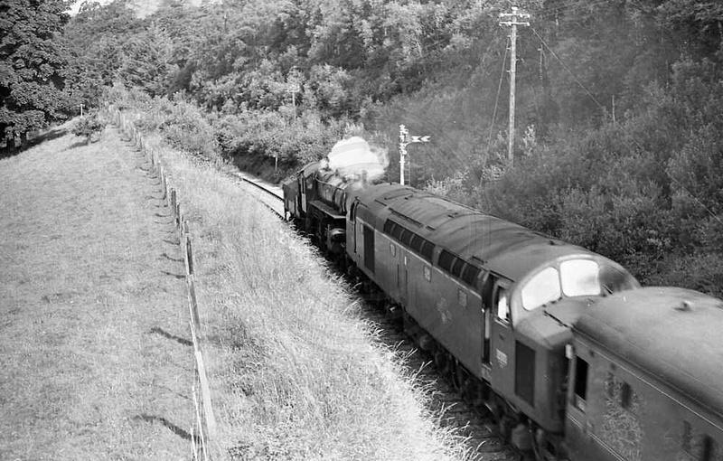 Cumbrian Railways Association Photo Library  Class 40